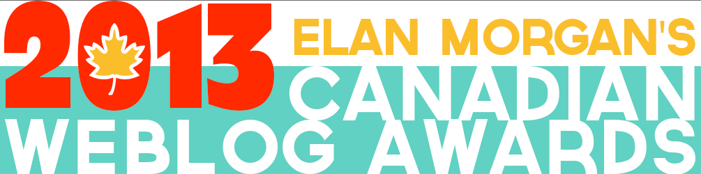 We've been shortlisted for best financial blog in the Canadian Weblog Awards.