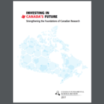 University Research Report Paints Grim Picture of R&D Spending in Canada (2017)