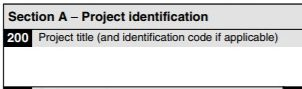 SR&ED Project Titles: First Impressions Matter (Line 200)